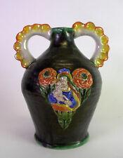 grosser Keramik Krug / Flasche - Gmundner Keramik - S G  Scheibbs Schleiss