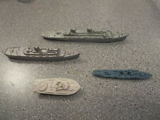 VINTAGE CEREAL TOYS SHIPS NAVY 4 LOT