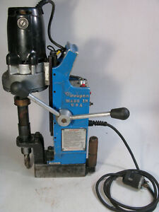 Hougen Rotabroach Magnetic Base Precision Rotary Broaching Machine 10914 Drill