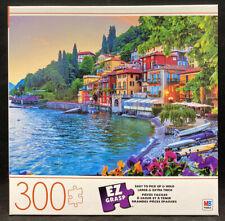 HOLIDAYS IN ITALY 300 LARGE EZ GRASP PIECE JIGSAW PUZZLE MILTON BRADLEY ~ NEW
