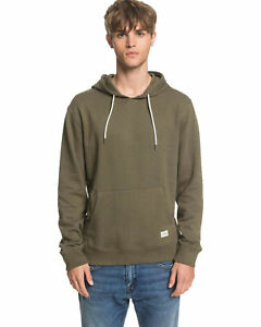 NEW QUIKSILVER™  Mens Essentials Hoodie Fleece Top