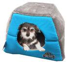 Cat Kitten Cave, Puppy Dog, Pet Igloo, Cat Basket, Pet Mat, Hidey Hole - Blue