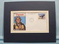 Honoring the World War II Corsair Fighter & First Day Cover of its own stamp