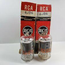 2 NIB RCA 6JB6 Vacuum Tubes - USA - Tested