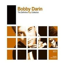 BOBBY DARIN THE DEFINITIVE POP COLLECTION REMASTERED 2 CD NEW