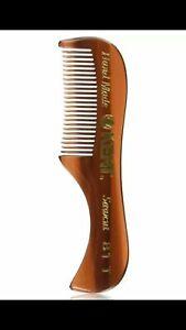 New Package Kent 81T X-Small Men's Handmade Beard Mustache Sawcut Comb Barber