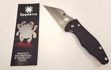 Spyderco Yojimbo 2 CPM-S30V Blade Plain Edge Folding Pocket Knife - C85GP2