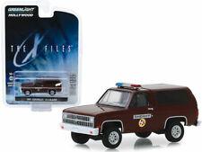 """1981 Chevrolet Blazer K-5 POLICE Sheriff """" X-FILES TV Auto * Greenlight 1:64 NEU"""