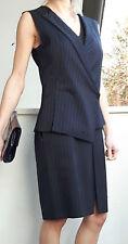 SPORTMAX by MAX MARA Blue Dress/Gilet Effect size USA 8, GB 10,I 42,F 40,D 38NEW