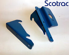Fordson Dexta Super Dexta numberplate brackets pair as original
