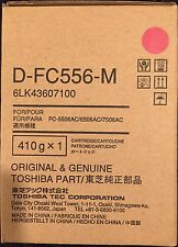 Toshiba 6LK43607100 DFC556M MAGENTA DEVELOPER for eStudio e5506AC/6506AC/7506AC