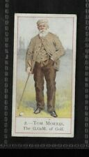 1900 COPE'S GOLFERS OLD TOM MORRIS VERY RARE GOLF CIGARETTE CARD