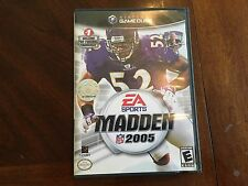 Madden NFL 2005 CIB Game, Case, and Manual (Nintendo GameCube, 2004)