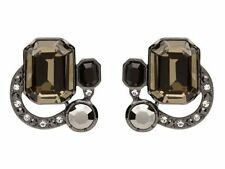 Black Stud Fashion Earrings
