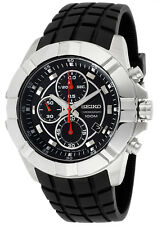 SEIKO LORD MEN CHRONOGRAPH BLACK DIAL 100M WATCH SNDD73 SNDD73P2