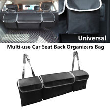 High Capacity Multi-use Car Seat Back Trunk Organizer Bag Interior Equipment 1PC