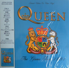 Queen- The Game Tour Japan Edition On Clear Vinyl LP CRLVNY012