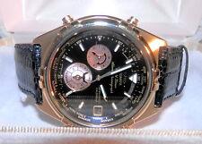 RARE! Seiko Analogue World Timer Alarm Chronograph Cal. 6M15 NIB Never Worn! *