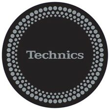 2x DMC Dot / Dots Design Technics Slipmats / Slip Mats for Vinyl Turntable DJ