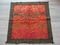 VINTAGE INDIAN WALL HANGING TRIBAL HOME DECOR ETHNIC PATCH EMBROIDERY TAPESTRY