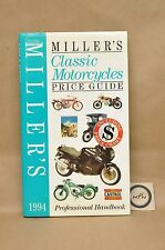 1994 Millers Classic Motorcycle Ducati Honda Matchless Norton Price Guide Book