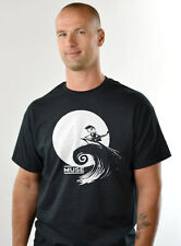 Muse Nightmare before Christmas concert tour shirt T-shirt Jack Skellington