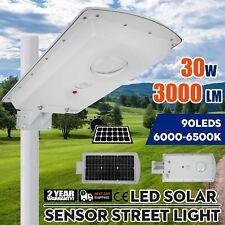 90 LED Solar Power PIR Motion Sensor Garden Yard Wall Outdoor Street Light Lamp