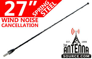"""27"""" Black Spring Stainless AM/FM Antenna Mast  Fits: 1995-98 Ford Windstar"""
