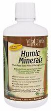 Vital Earth Humic Minerals - 32 oz DETOXIFY, VIRAL IMMUNITY, CELLULAR HEALING