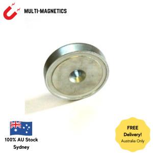 CLEARANCE! 20 x Alnico Countersunk Pot Magnets 60mm Diameter High Temperature
