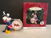 MICKEY MOUSE BANDLEADER DISNEY Ornament 1997 With Box - Mint