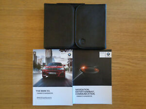 BMW X4 Owners Handbook/Manual and Pack 14-16
