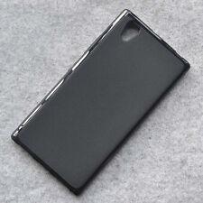 For Lenovo P70 Black TPU Matte Gel skin case back cover