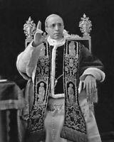 Roman Catholic POPE PIUS XII Glossy 8x10 Photo Church Print Priest Poster