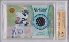 2011 Panini Gold Standard Mark Ingram Gold Leaf Rookies Autograph card! /50!