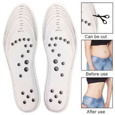 Massage Acupressure Weight Loss Slimming Insoles Therapy Magnetic One Size