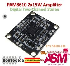 PAM8610 2x15W Amplifier Digital Two-Channel Stereo Power Amplifier Board