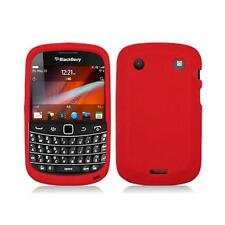 Red Silicone Skin Case Cover for Blackberry Bold Touch 9900 / 9930