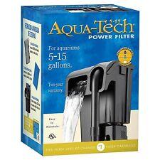 Aquarium Filter 5 to 15-Gallon Advanced 3 Step Filtration Fish Tank Accessories