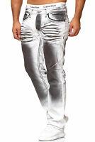 Jeanshose Jeans Hose Herrenjeans Slim Fit Basic Stretch Herren Designer