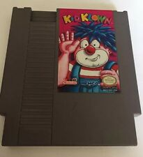 KID KLOWN (Nintendo NES) Rare 100% AUTHENTIC W/ MANUAL