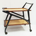 Beautiful Serving BAR Wheelchair Italian 1960 Vintage 60S 1960S Design Organic