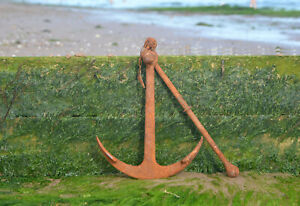 boat anchor fisherman's anchor traditional iron anchor 54.5 cm / 8.4 kg