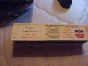 American Flyer Boxcar shell for 1981 S Fest