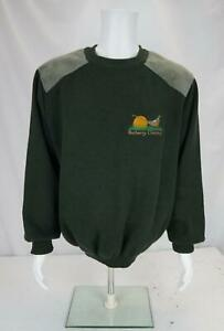 Vintage Burberry's Country Sweater Wool Jumper Green 2XL