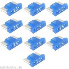 10St. 15A Mini LP kfz Sicherung Micro Flachsicherung Fuse Low Profile APS Auto