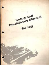 1980 Arctic Cat Jag Snowmobile Set-Up & Predelivery Manual P/N 0185-161 (825)
