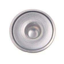 250 Silberfarbe Druckknopf Druckknöpfe 18mm