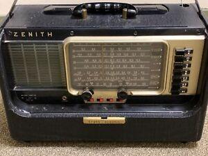Zenith Wave Magnet Transoceanic AM/SW Radio Model B600