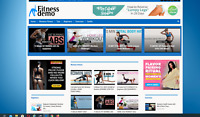 Womens fitness/ Affiliate product website,100% automated,PREMIUM DESIGNED